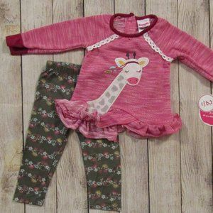 Nannette girls outfit 12 mo
